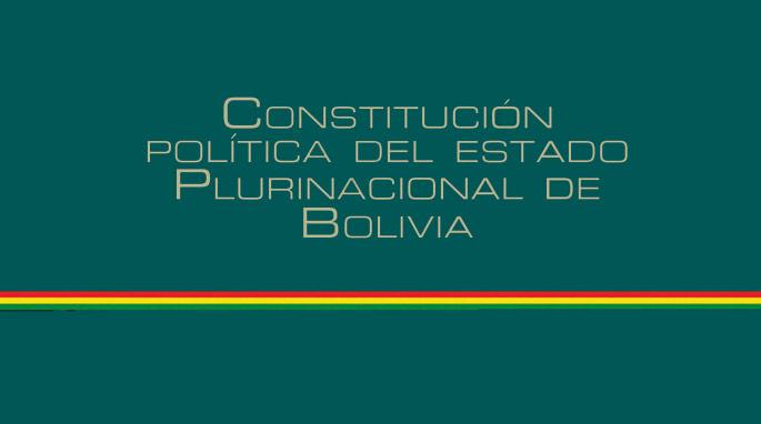 La Nueva Constitución Política del Estado