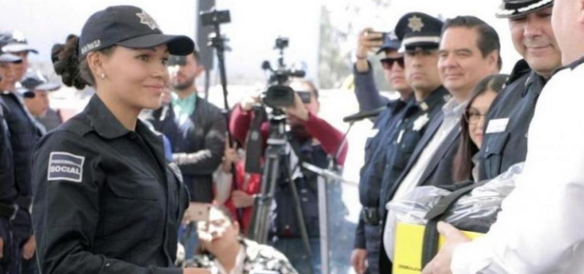 La primera policía trans se gradúa en México