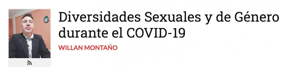 Diversidades Sexuales y de Género durante el COVID-19