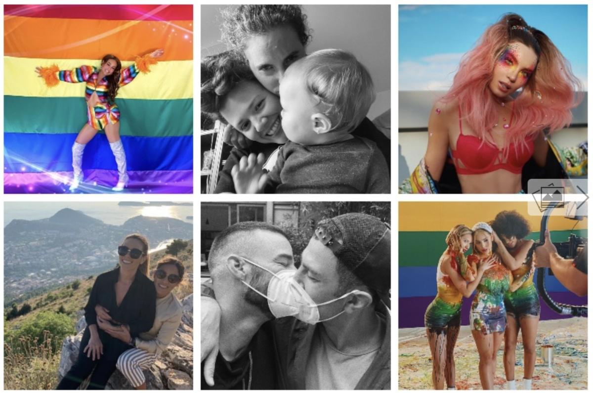 Estas son las celebridades que festejaron el Mes del Orgullo LGBT (fotos)
