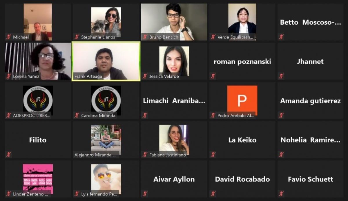 Apertura de la primera versión de la Escuela EMPODERA en Bolivia