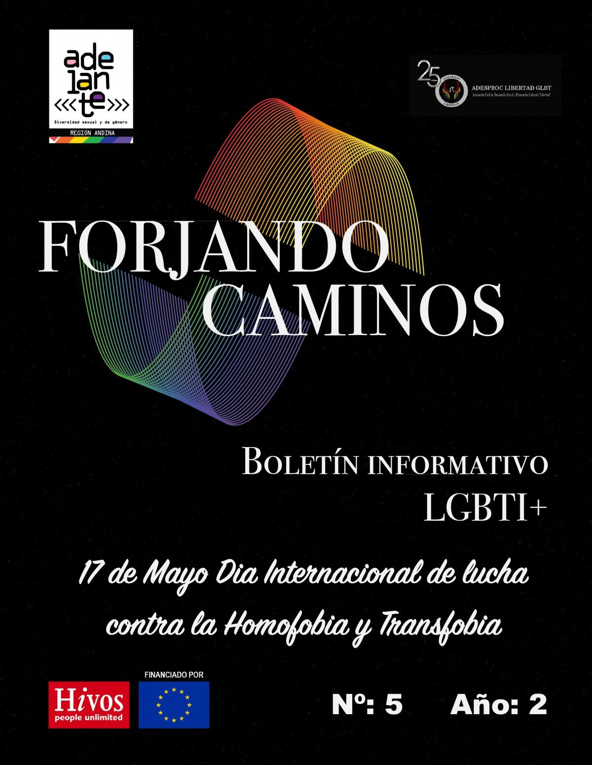 """Boletín 5  """"Forjando Caminos"""""""