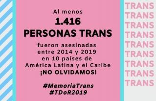 Día De La Memoria Trans 2019