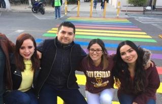 """Estudiantes de la Unison inauguran """"Un Paso por la Diversidad"""""""