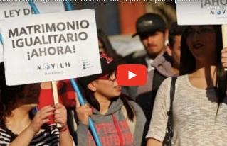 Congreso chileno da importante paso para aprobación del matrimonio igualitario
