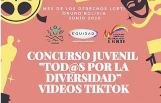 Activistas organizan concurso de videos TikTok para sensibilizar sobre derechos LGBTI