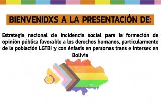 Presentación de la Estrategia nacional de incidencia social para la formación de opinión pública favorable a los derechos humanos, particularmente de la población LGTBI