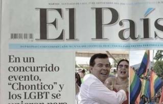 Manipulan portada de El País para crear falsa noticia sobre el candidato Roberto Ortiz