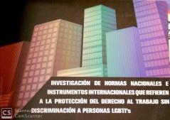 Investigación de Normas Nacionales e Instrumentos Internacionales que Refieren a la Protección del Directo al Trabajo sin Discriminación a Personas LGBTI
