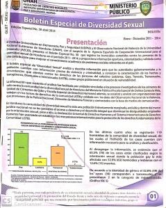 Boletín Especial de Diversidad Sexual Edición Especial No. 30