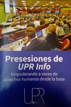 Presesiones de UPR Info