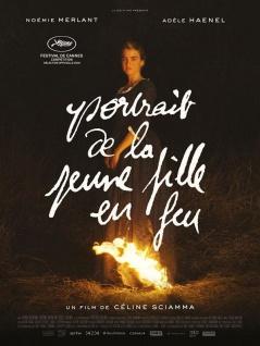 El retrato de una mujer en llamas