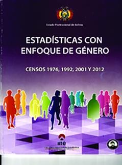 Estadísticas con enfoque de género  Censos 1976, 1992, 2001, 2012