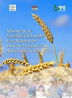 Informe de la Sociedad Civil sobre la realización del Derecho Humano a la Alimentación en Bolivia