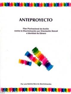 Anteproyecto: Plan Plurinacional de Acción contra la Discriminación por Orientación Sexual e Identidad de Género