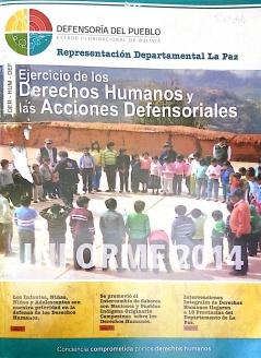 Ejercicio de los Derechos Humanos y los Acciones Defensoriales Informe 2014