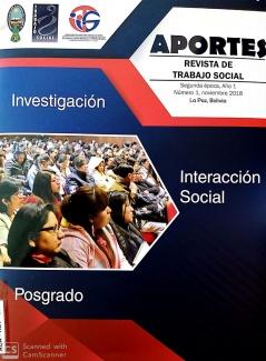 Aportes Revista de Trabajo Social Segunda Época, Año 1 Número 1