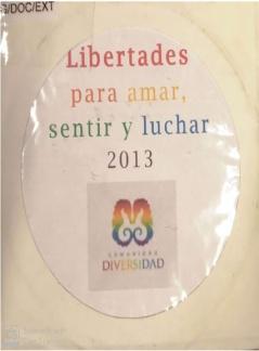 Libertades para amar, sentir y luchar - Comunidad Diversidad